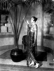 1920's evening dress at the 'Lucille' fashion parade
