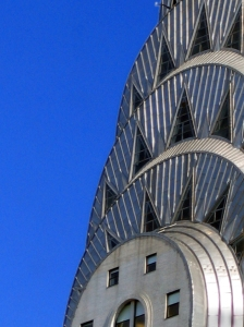 Detail of the Chrysler Building, NY