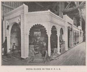 """The """"India Block"""" at the Panama–Pacific International Exposition, 1915"""