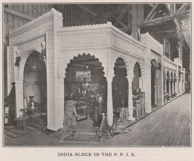 "The ""India Block"" at the Panama–Pacific International Exposition, 1915"