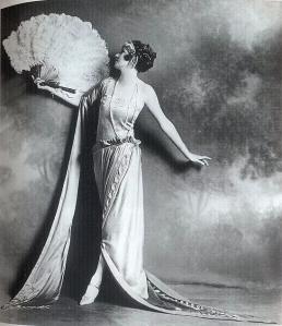 Irene Castle in Madeleine Vionnet Dress, 1922