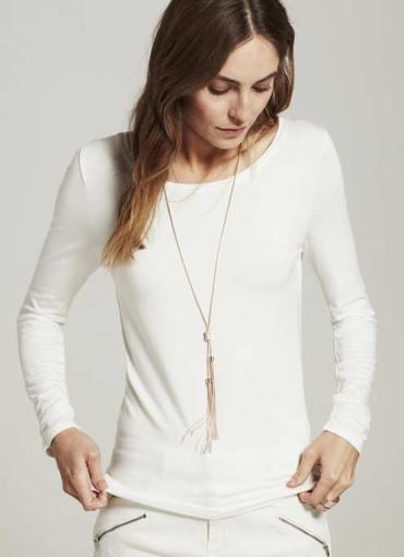 Mint Velvet rose gold toned necklace
