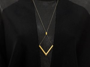 Chevron necklace - BazkBerlin