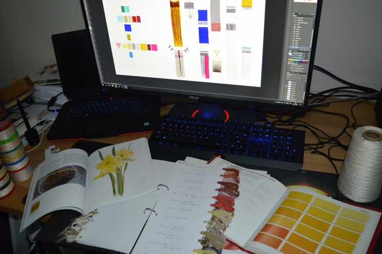 Planning dyes